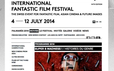 Super 8 Madness ! au NIFFF 2014